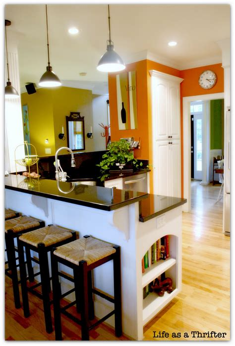 as a thrifter home tour the kitchen