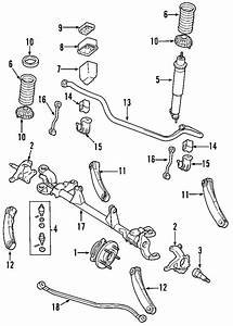 Jeep Grand Cherokee Shock Absorber  2wd  Code Sda  4wd