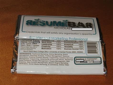 Chocolate Bar Resume by Scores With Bar R 233 Sum 233 Things