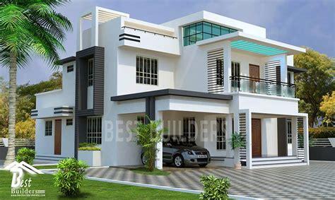 Splendid Contemporary House Designed by Best Builders