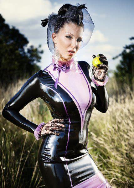 latex dress mystique tailored   measure