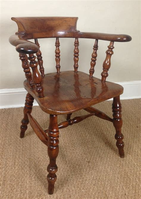 Wood Captains Chair Plans by A Yew Wood Captains Chair C 1880 250175