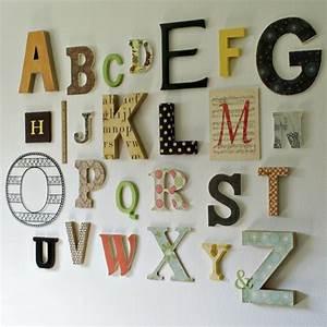 arrangement de lettre decorative murale archzinefr With lettre decorative pour cuisine