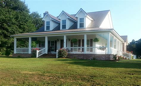 wrap around porch houses for sale country style house plan 4 beds 3 baths 2039 sq ft plan