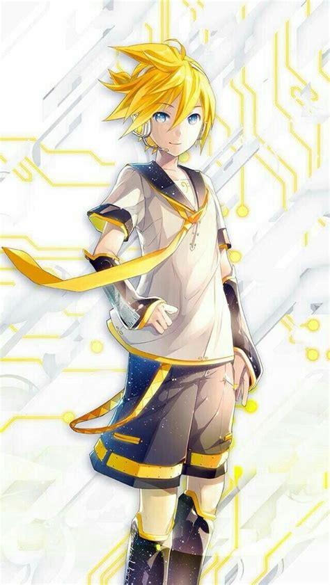 len kagamine rin y len vocaloid vocaloid len y anime