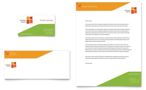 church youth ministry business card letterhead template