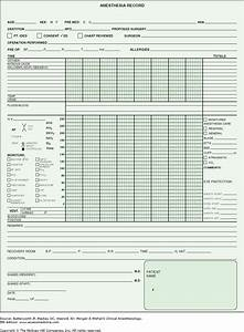beautiful anesthesia record template ideas example With preoperative evaluation template