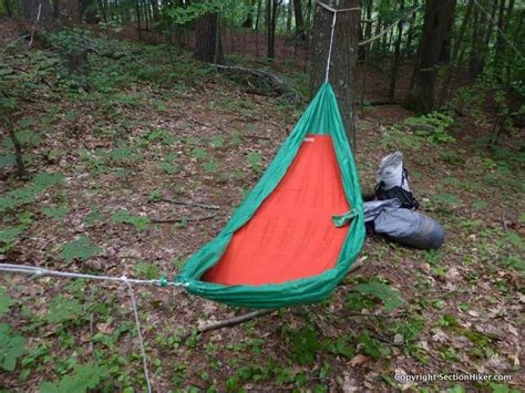 Sleeping Hammock by Thermarest Slacker Hammock Sleeping Pad Review Section