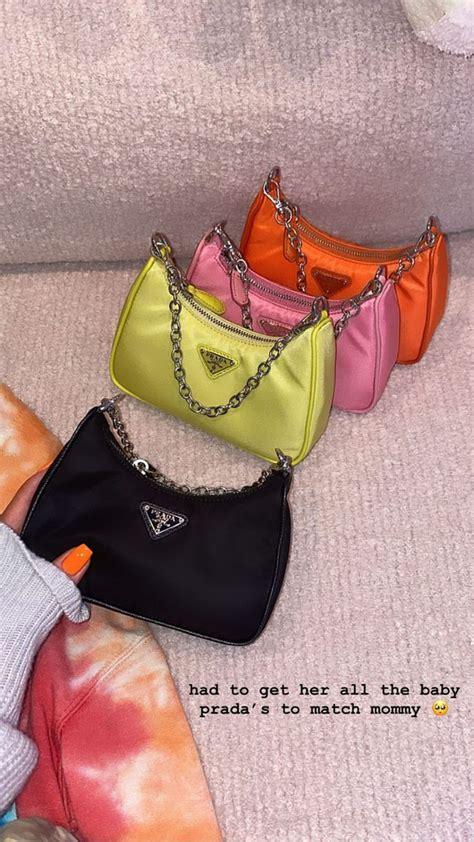 stormi bags kylie jenner   prada bag bags purses  handbags
