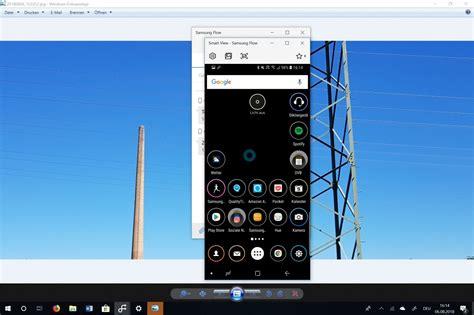 samsung flow  kommen windows pc und smartphone zusammen