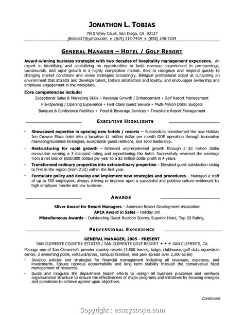 Restaurant General Manager Resume by Newest Best Restaurant General Manager Resume Restaurant