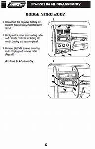 2007 Dodge Nitro Installation Parts  Harness  Wires  Kits
