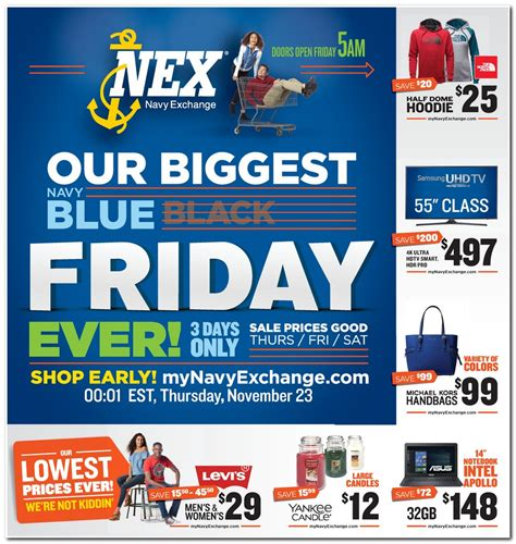 Navy Exchange Black Friday 2018 Ads, Deals And Sales