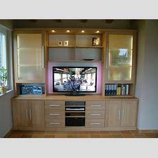 Moderne Wohnwand Mit Offenem Fach Für Plasmatv Tv