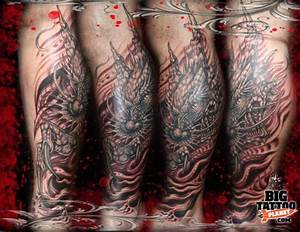 Mike the Freak - Biomechanical Tattoo | Big Tattoo Planet