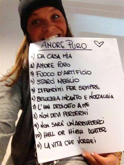 alessandra amoroso amore puro tracklist del nuovo album