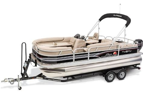 Bass Pro Shop Used Pontoon Boats by Sun Tracker Barge 22 Dlx Pontoon Boats New In