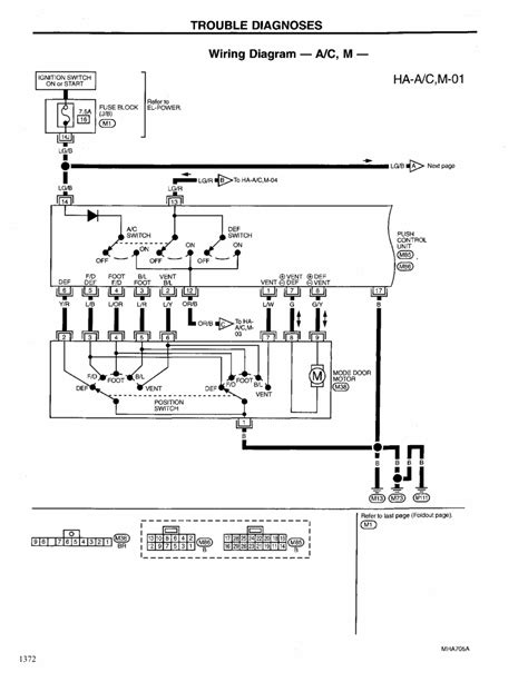 1999 Nissan Maxima Wiring Diagram by Repair Guides Heating Ventilation Air Conditioning