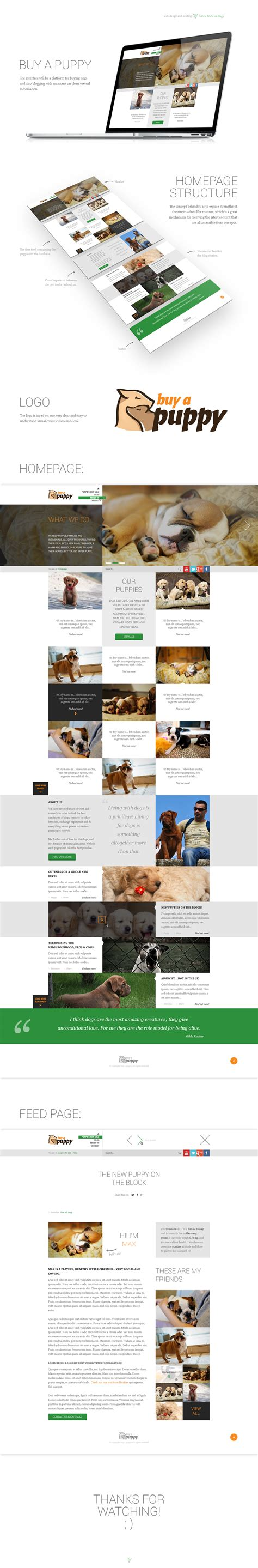 Web Design  Ee  Buy A Puppy Ee   By Tngabor On Deviantart