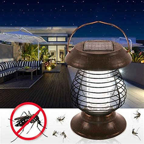remiel portable solar mosquito killer lamp stainless steel