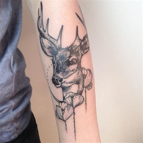 120+ Best Deer Tattoo Meaning And Designs  Wild Nature (2018