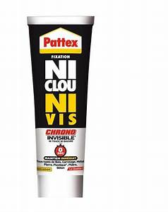 Ni Clou Ni Vis Pattex : colle ni clou ni vis chrono invisible de pattex cartouche ~ Dailycaller-alerts.com Idées de Décoration
