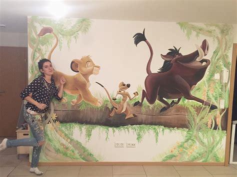 Kinderzimmer Wandgestaltung Disney by Wandmalerei F 252 R Kinder Wandbemalung Victorias Traumwand
