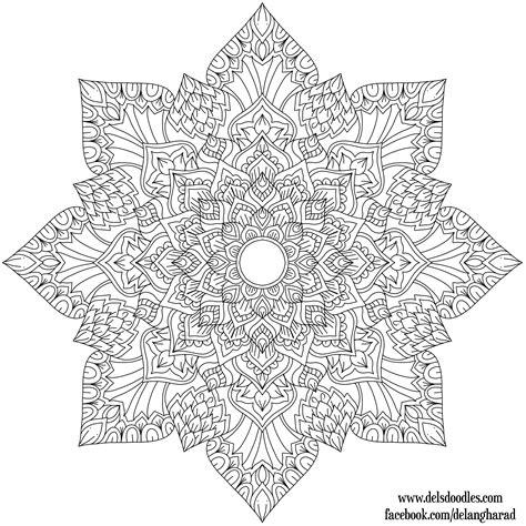 Coloring Krita by Krita Mandala 34 By Welshpixie On Deviantart