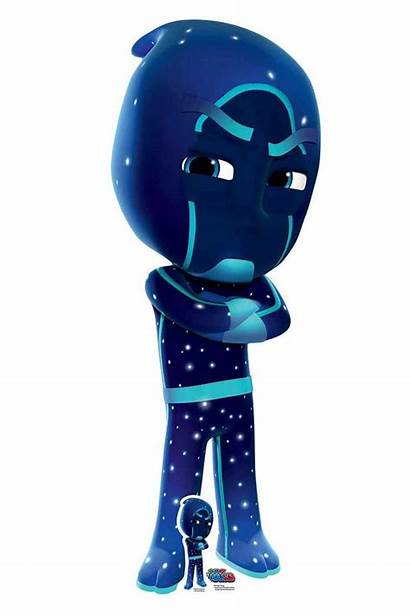Pj Ninja Masks Night Cardboard Official Cutout