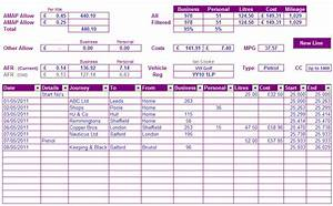 Trip Log Mileage Tracker Business Mileage Calculator Spreadsheet Fonttihoumo S Blog