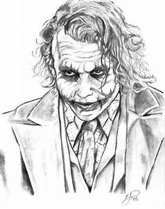 Images Of Gangster Joker Drawings In Pencil Summer