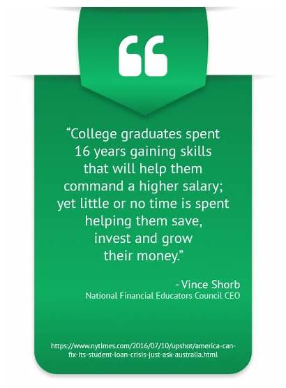Financial Literacy Quotes Important Education Why Importance