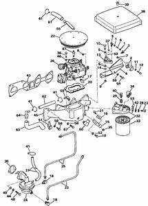 omc stern drive intake manifold fuel system parts for With diagram of 1988 e200cxccr evinrude intake manifold diagram and parts