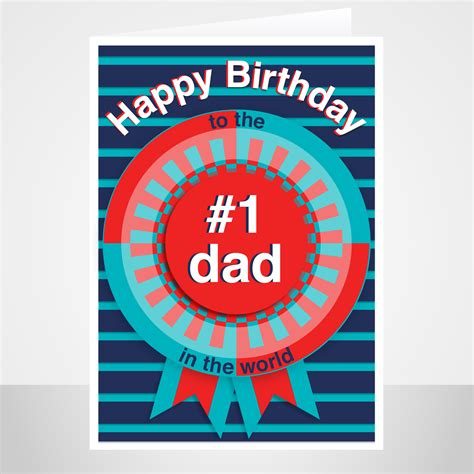 There's a special set of numbers to show information about the card issuer and another set to show information about the card holder. No 1 dad birthday card - stuartconcepts