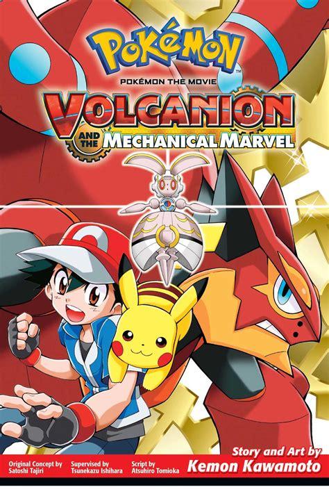 pokemon   volcanion   mechanical marvel