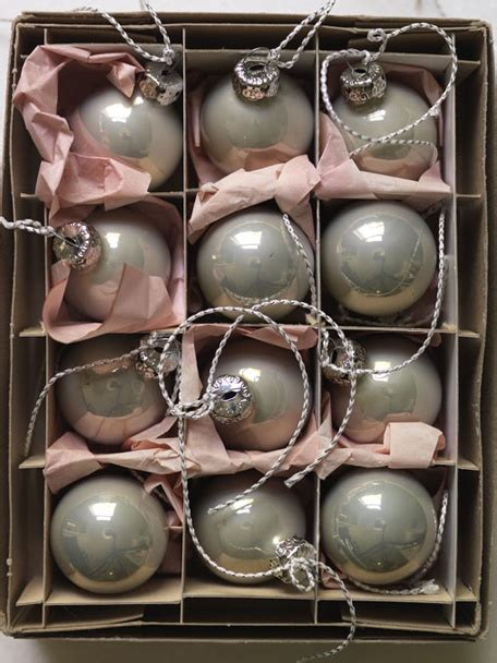 gray ornaments christmas pinterest