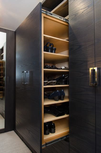 Master Bedroom Walk Through Closet Custom Cabinetry