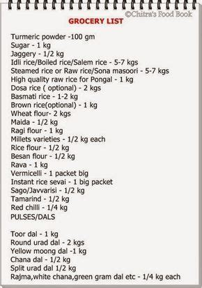 indian monthly grocery list   persons hd grocery