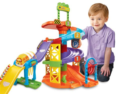 Vtech Tut Tut Baby Flitzer Parkhaus  Parken Auf Neuen Ebenen