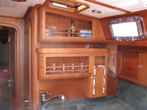 Boat Cabinets by Service Maine Yacht Center