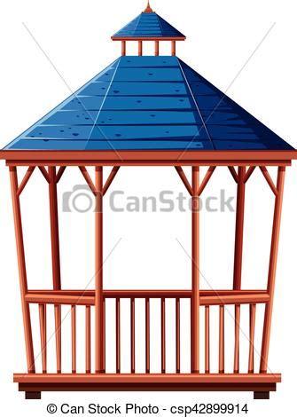 dach für pavillon blaues pavillon dach abbildung