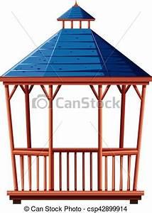 Dach Für Pavillon : blaues pavillon dach abbildung ~ Whattoseeinmadrid.com Haus und Dekorationen