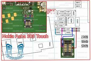 Nokia Asha 303 Touch Screen Panel Problem Jumpers Solution