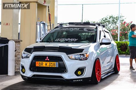 Mitsubishi Outlander Custom by 2014 Mitsubishi Outlander Sport Klutch Km20 Truhart Coilovers