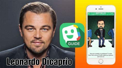 Tutorial For Bitmoji How To Create Avatars Leonardo Dicaprio