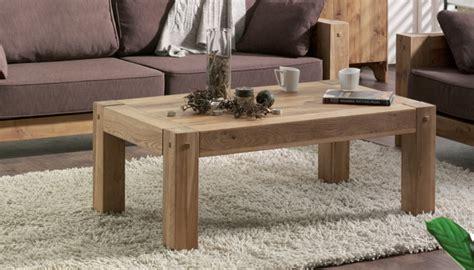 soldes meubles de cuisine table basse en chêne massif huilé