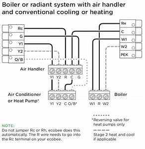 Installing Your Ecobee With A Boiler And Ac  Dual