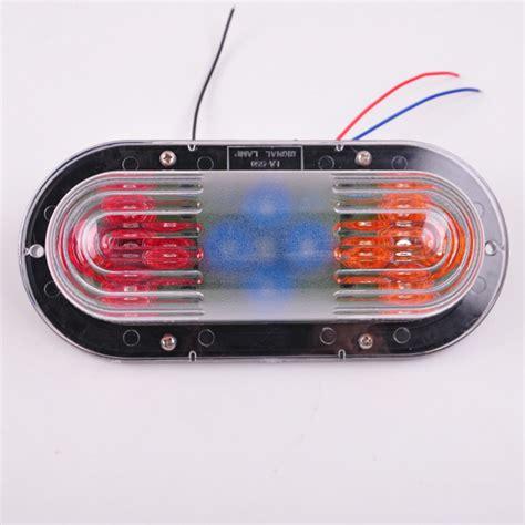 red led vehicle warning lights 24v yellow blue red led side marker light clearance l