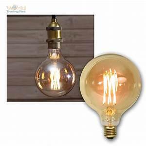 Glühlampe Als Lampe : e27 gl hbirnen filament led nostalgie birne retro vintage spiral gl hlampe lampe ebay ~ Markanthonyermac.com Haus und Dekorationen