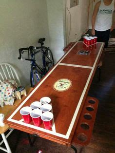 diy beer pong tournament trophy   cans duct tape